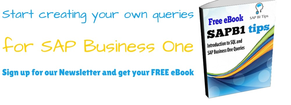 Introduction to SQL and SAP Business One Queries